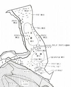 円山養樹園植栽図1