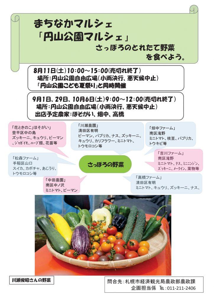 平成30年8月11日円山公園マルシェ