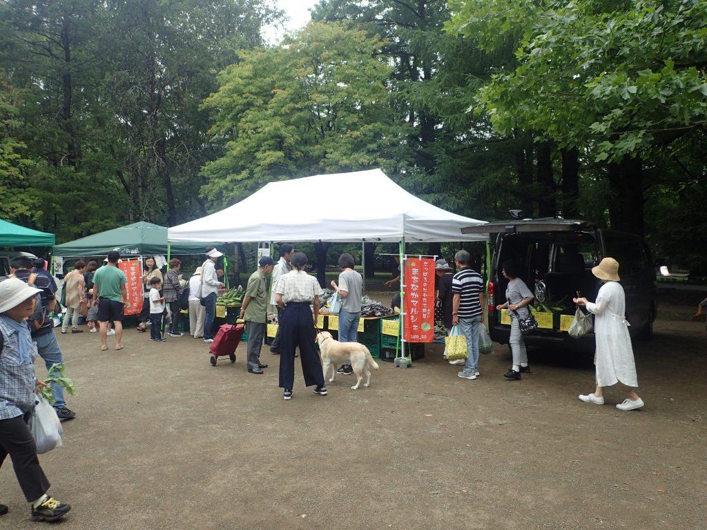 円山公園マルシェ