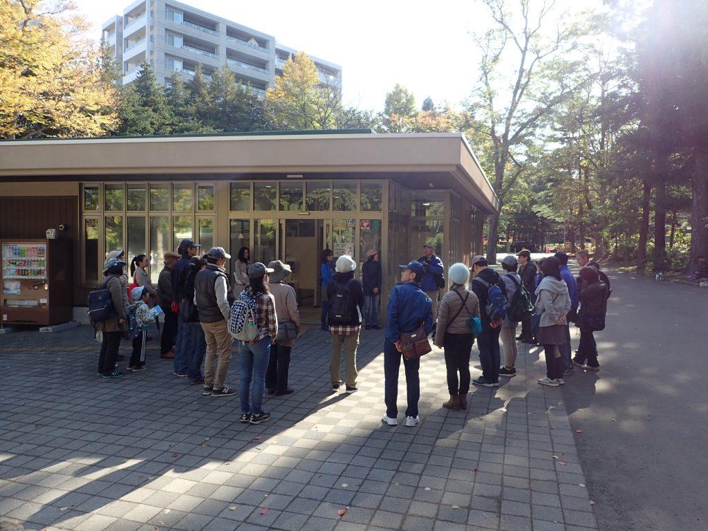 平成30年10月21日円山公園探訪ツアー1