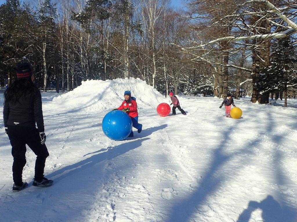 平成31年1月14日まるやま雪中運動教室1
