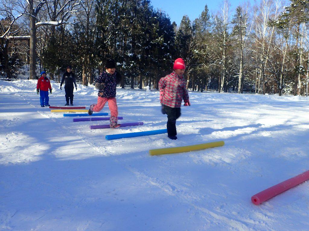 平成31年1月14日まるやま雪中運動教室2