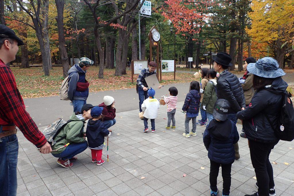 2019年10月27日(日曜日)公園あそびらぼ「森のおんがく隊」の様子1